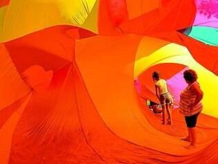 Hugo Richard leva pesquisa com infláveis à região de Nova Lima