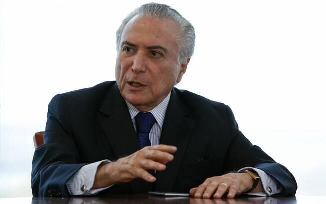 Entre os temas do encontro com o Michel Temer estavam os desdobramentos da intervenção federal na segurança do Rio
