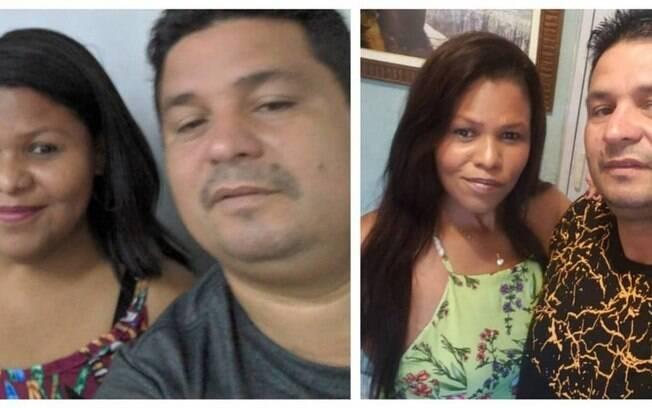 Antes e depois: Alice, que pesava 125kg, agora tem 68. O marido, Renato Ribeiro, mudou hábitos para incentivá-la, e perdeu 24kg