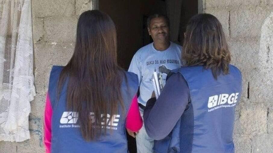 IBGE abriu seleção para contratar 2084mil para o Censo 2021