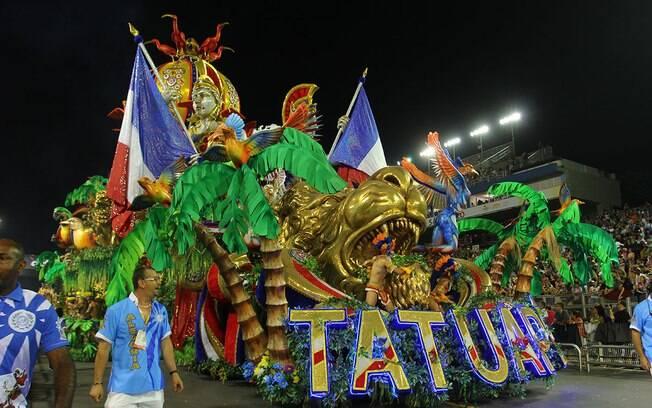 A Acadêmicos do Tatuapé foi a grande campeã do carnaval de São Paulo neste ano