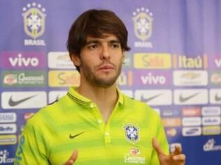 Kaká ficou surpreso com a recepção dos fãs chineses em Pequim