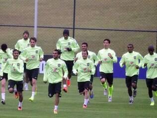 Seleção brasileira dá sequência à rotina de treinamentos na Granja Comary