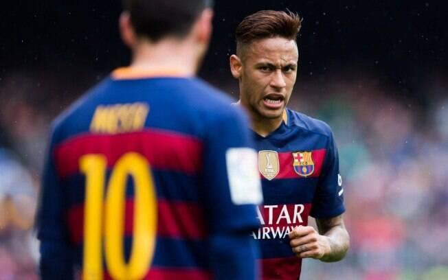 Messi teria dito a Neymar que o ajudaria a ser o melhor jogador do mundo em breve