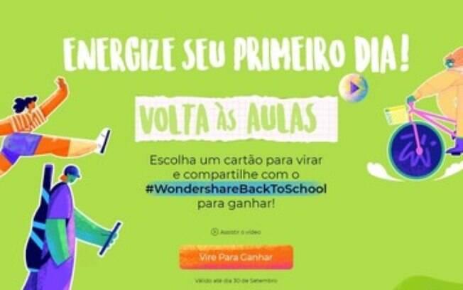 Wondershare Lança a Campanha de Volta à Escola para Motivar os Alunos no Novo Ano Escolar