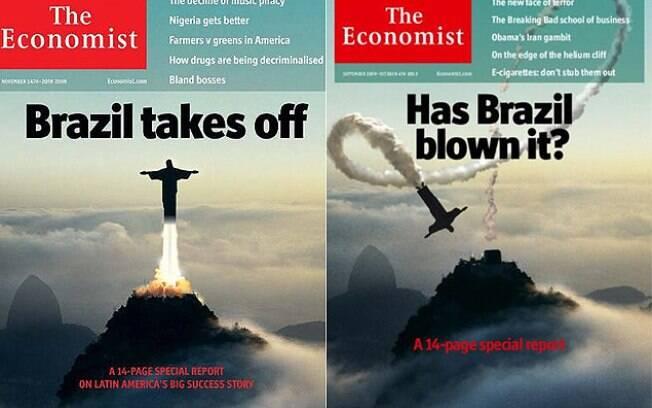 Em 2009, um Brasil decolando; em 2013, dúvidas e pessimismo retratados pela