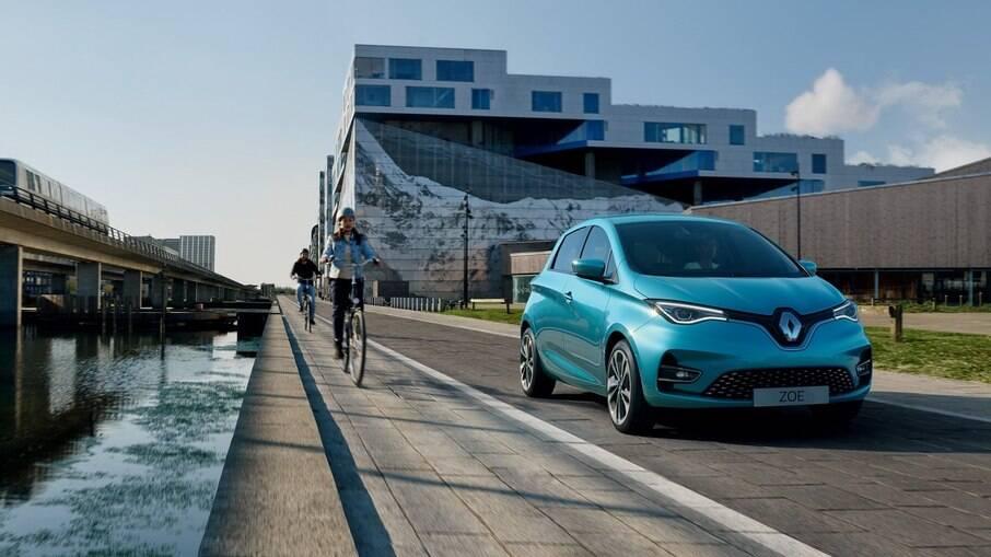 Renault Zoe é o primeiro de dois modelos elétricos que a marca terá no Brasil até 2022