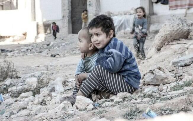 Crianças são vítimas constantes dos conflitos da Síria