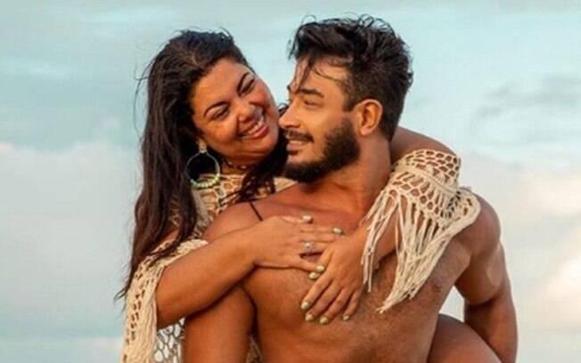 Fabiana Karla e Diogo Mello