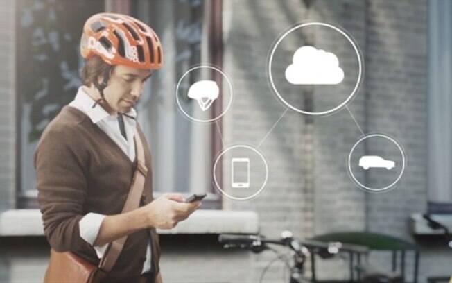 Protótipo de capacete de ciclista da Volvo será apresentado na CES 2015