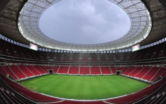 Estádio Mané Garrincha foi o mais caro da Copa do Mundo de 2014