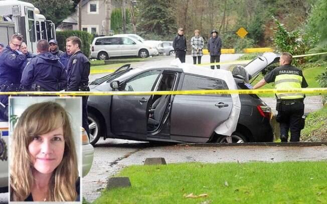 Corpo da criança foi guardado no porta-malas do mesmo carro em que a mãe tentou suicídio.
