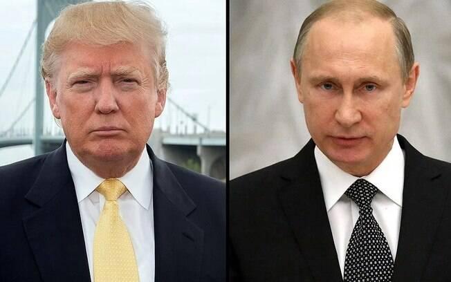 Durante toda a campanha eleitoral à Casa Branca, Putin e Trump trocaram elogios