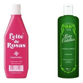 Leite de Rosas e Leite de Colônia