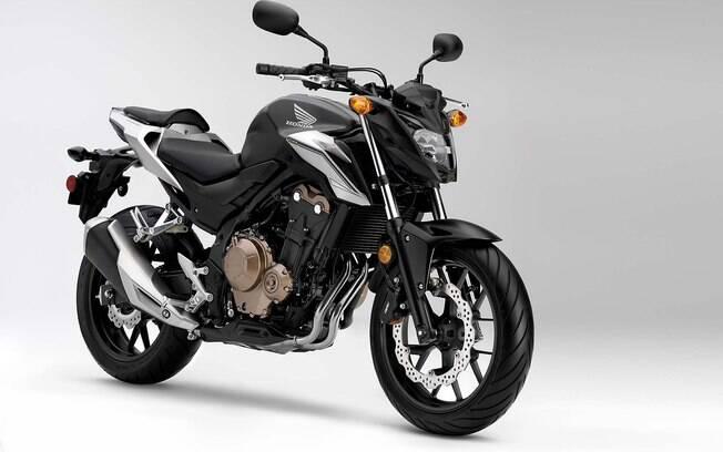 Honda CB500 F é um dos modelos que podem acelerar de 0 a 100 km/h em apenas 7 segundos