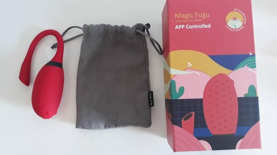 O Magic Fugu cabe na palma da mão e é fácil de guardar