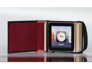 Capa para iPod Nano é inspirado em capas de livros