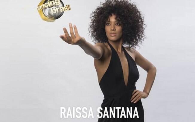 A Miss Brasil Raissa Santana está entre os participantes da nova edição do Dancing Brasil, na Rede Record