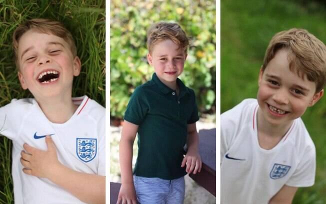 Príncipe George comemora seis anos e novas fotos foram divulgadas no Instagram
