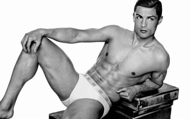 Cristiano Ronaldo em uma de suas campanhas publicitárias