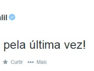 Presidente do Galo usou o seu perfil no Twitter para reclamar da anulação do gol de Luan no jogo contra o Grêmio
