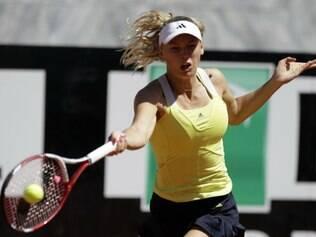 A próxima adversária de Wozniacki será a italiana Sara Errani
