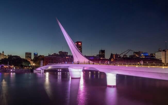 A puente de La Mujer é um dos pontos mais indicados por sua grandeza arquitetônica