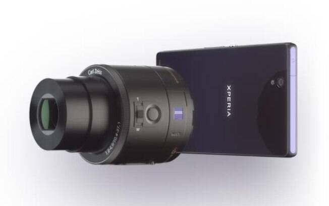 621f9f23581 Lentes para smartphones da Sony são uma grande ideia