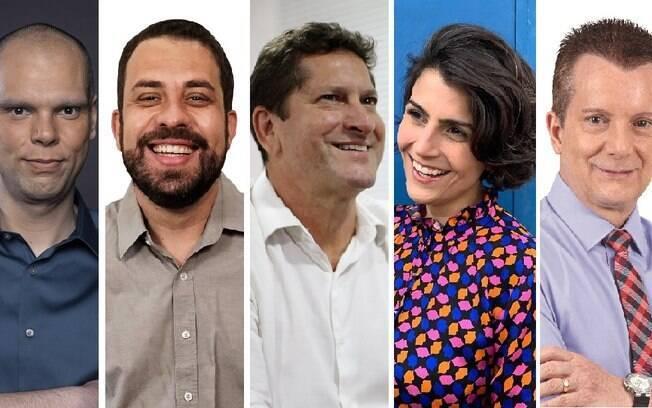 Candidatos a prefeitos descoloraram suas imagens de seus respectivos partidos