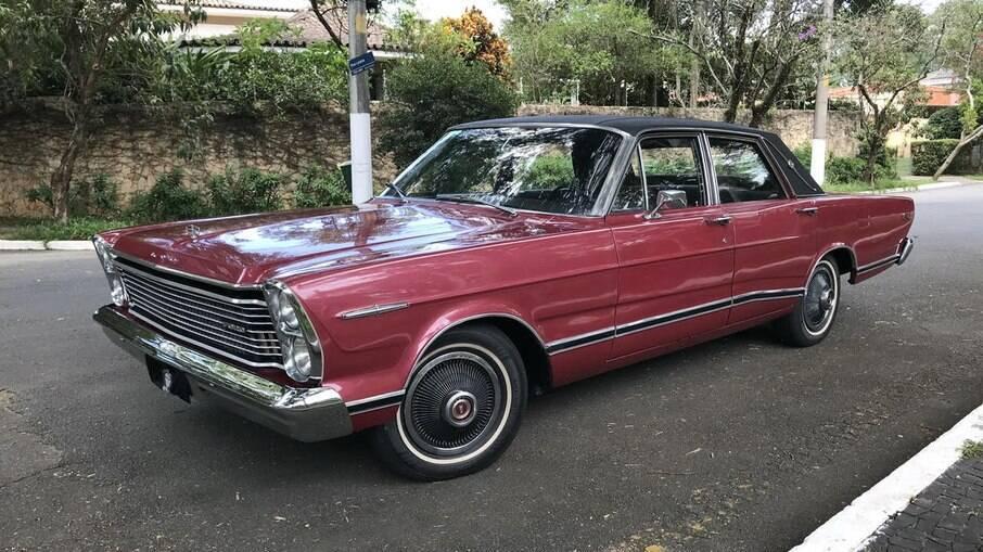 Ford LTD Landau: foi o sedã mais luxuoso fabricado no Brasil no final dos anos 60 com requinte de sobra