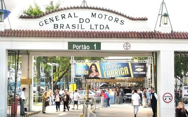 Fábrica da General Motors em São Caetano do Sul (SP)