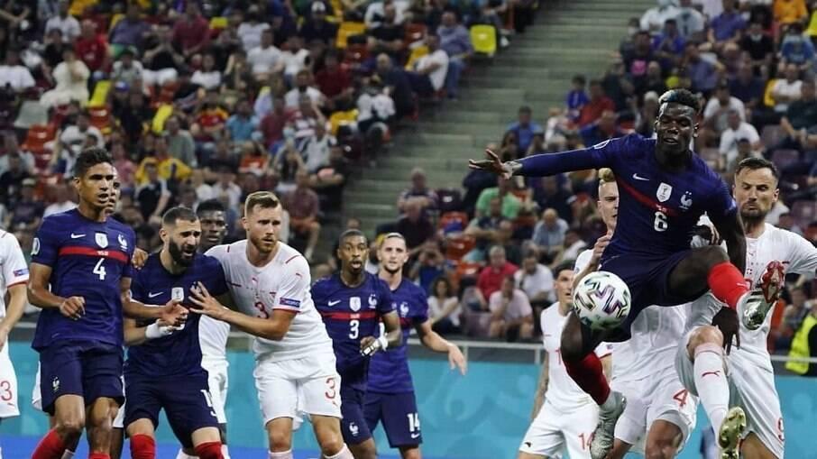 França é eliminada pela Suíça nos pênaltis