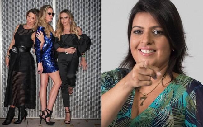 Trio entrevista a colunista de celebridades em live às 16h