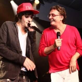 Fiuk e o pai, Fábio Jr.:
