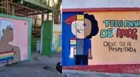 SP: deputado gay critica muro de escola por desenhos LGBTQ+