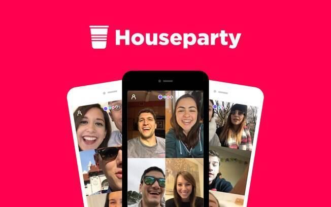 No foco do Facebook, Houseparty está entre os 200 aplicativos mais populares da App Store dos Estados Unidos