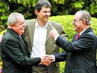 Arranjo. Aparição de Lula e Maluf juntos, em 2012, deu o que falar: disputa agora é coisa do passado