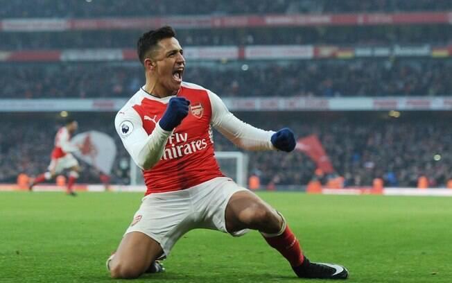Alexis Sánchez pode trocar o Arsenal pelo Manchester City ainda na janela de inverno