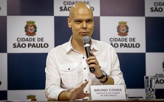 Bruno Covas anunciou 250 novos leitos nesta quarta