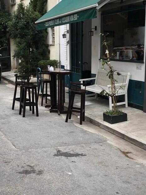 calçada Itaim Bibi