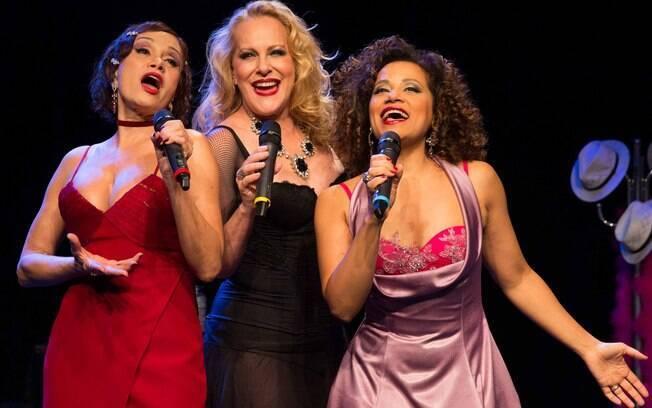 Tania Alves, Lucinha Lins e Virgínia Rosa estrelam o espetáculo