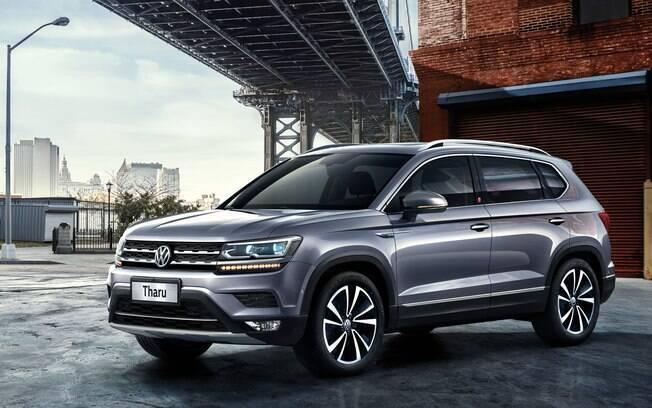 VW Tarek chama-se Tharu na China e começa a ser feito na Argentina no fim do ano para ser lançado no início de 2020