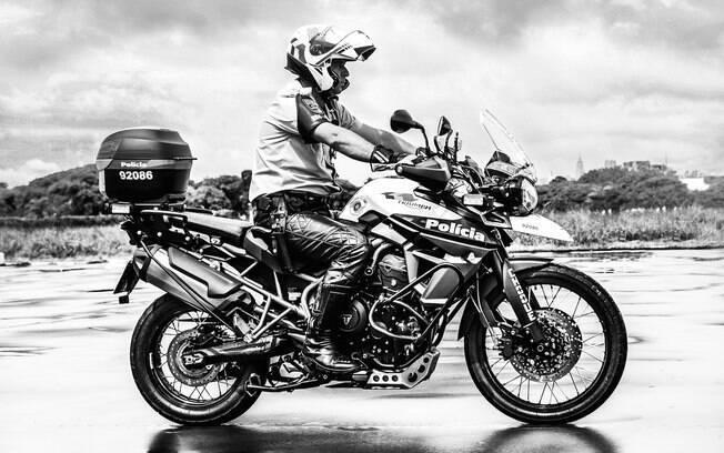 Polícia Militar da ROCAM - Ronda Ostensiva Com Apoio de Motocicleta