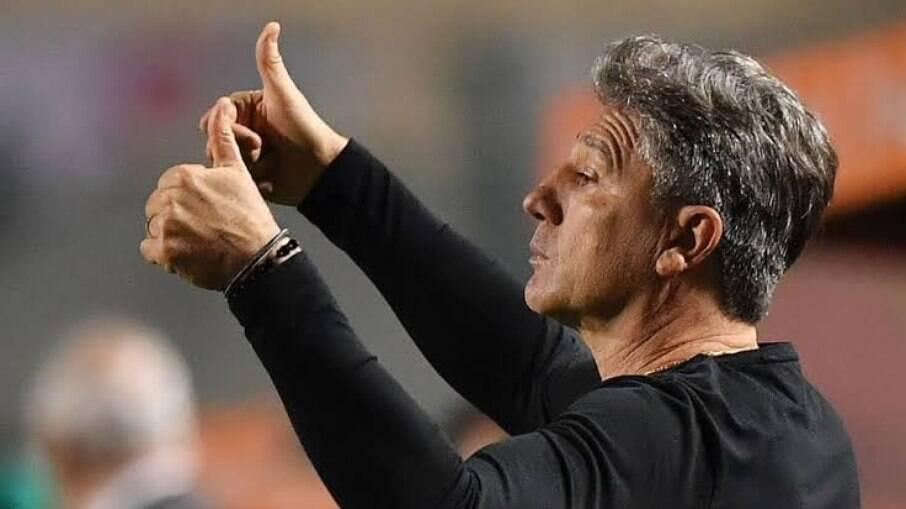 Renato Gaúcho elogiou desempenho do Flamengo