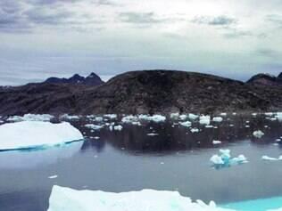 Analistas examinaram amostras da Groenlândia