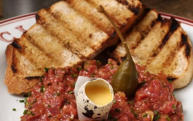 Foto da receita Steak tartar pronta.
