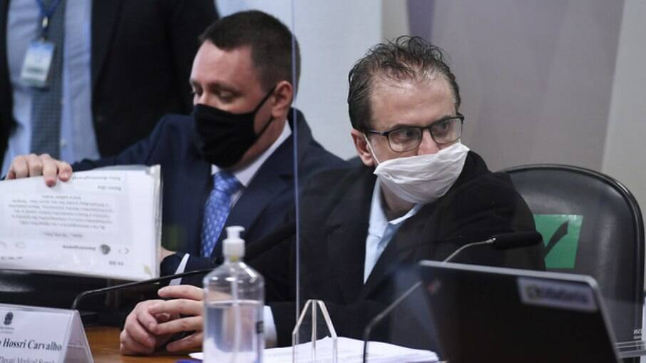 Cristiano Carvalho na CPI da Covid