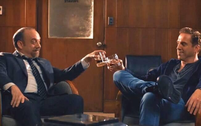 Cena da quarta temporada de Billions, já disponível na Netflix