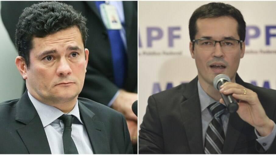 Moro e Dallagnol, duas peças-chave que envolvem a Lava Jato e as condenações do ex-presidente Lula