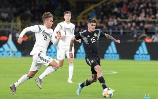 Em amistoso, Alemanha e Argentina empataram em 2 a 2